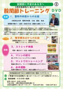 股関節DVD ポスター